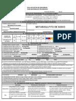 Metabisulfito de Sodio3