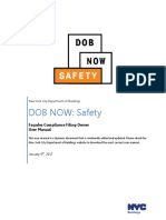 NYC DOB Now Safety Owner User Manual