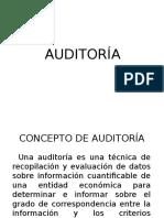 01 Concepto de Auditoría