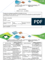 Guía de Actividades y Rúbrica de Evaluación - Fase II - Descriptiva