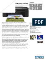 Expression Home XP 205 Datasheet