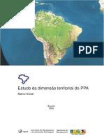Ppa - Estudo Da Dimensão Territorial Do PPA - Marco Inicial