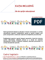 S3 Serviciile de Sprijin Educațional