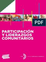 Participación y Liderazgos Comunitarios
