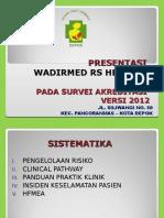 Final, Survey. PRESENTASI DIR MANAJEMEN RISIKO & HFMEA_FINAL 280613.ppt