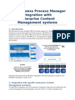 IBM Business Process Manager Integration With Enterprise Content Management Systems