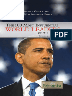 The 100 Most Influential World - Britannica Educational Publishi