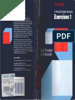 A Practical English Grammar_Exercises 1