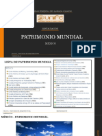 PATRIMONIO MUNDIAL - MEXICO