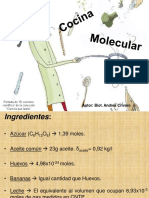 Quimica2017 Cocina Molecular