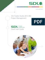 SDL Trados Studio 2015 SR2 Project Management