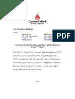 finalized cbtc news release