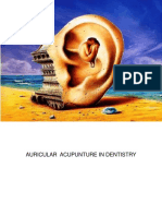 Agopuntura Auricolare in Odontoiatria