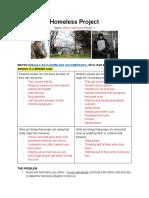 homelessproject-mirnavalenzuela