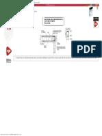 Pormenores Construtivos. CYPE. EHR501_ Apoio Do Extremo Do Vão Sobre Parede de A