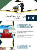 Assurance maison & assurance condo à Québec