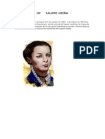 Biografia de Salome Ureña