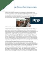 Aplikasi Teknologi Molekuler Pada Pengembangan Hewan Ternak.docx