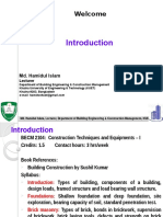 1. Introduction - Types of Building