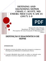 Defining and Diagnosing Sepsis