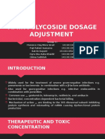 Aminoglycoside Dosage Adjustment - Group 4