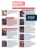 Catálogo MAYO 2017 Marvel