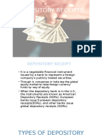 Depository Receipts