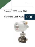 Cameron Scanner 2000 Hardware User Manual
