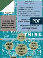 Kewirausahaan business plan ppt