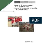 Propuesta de Lineamientos Para Acciones de Contingencia (20!10!2014) Aportes Finales