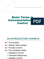 Basic Terms in Instrumentation and Control - Continue