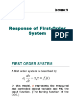 Response of First-Order System.