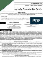 Todo Lo Encuentro en Su Presencia (2daParte)-HCV-Marzo28,2017