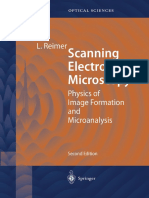 Scanning Electron Microscopy - Physics of Image Formation and Microanalysis - Ludwig Reimer (1998 Second Edition)