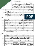 Giovanni Matteo Alberti Concerto3 Score and Parts
