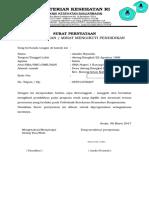Form Surat Pernyataan Kesungguhan Mengikuti Pendidikan