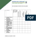 Acta de Calificaciones de Proyectos Escolarestutores