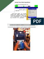 Restoring a Fanuc Robot Image Backup