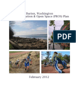 Burien, Washington Park, Recreation and Open Space (PROS) Plan