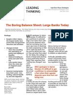 The Boring Balance Sheet