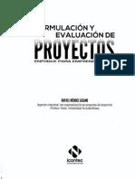 Formulación y Evaluación de Proyectos - Méndez