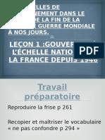 GOUVERNER LA FRANCE