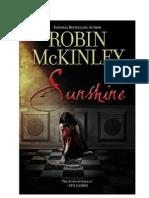 Robin McKinley - Sunshine