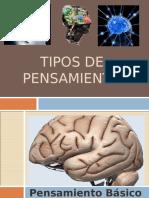 TIPOS DE PENSAMIENTO.ppt