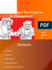 Workers' Participation in Management