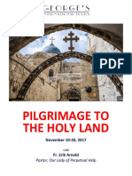 OLPH Pilgrimage to the Holy Land (Nov 10-20, 2017)