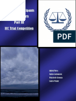 Guide for Participants of Moot Courts. Part III. ICC Trial Competition