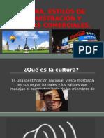 Cultura, Estilo de Administración y Sistemas Comerciales
