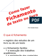 como fazer fichamento de texto ou livro-130127175818-phpapp02