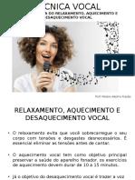 Tecnica Vocal _ Aula 3